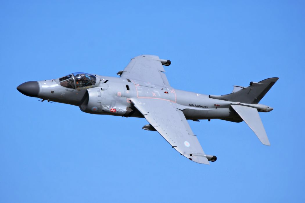 harrier a2 british UK aircrafts army military sky fighters wallpaper