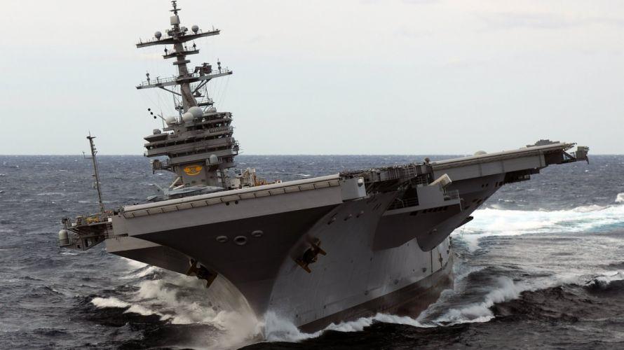 portaaviones americano barco militar wallpaper