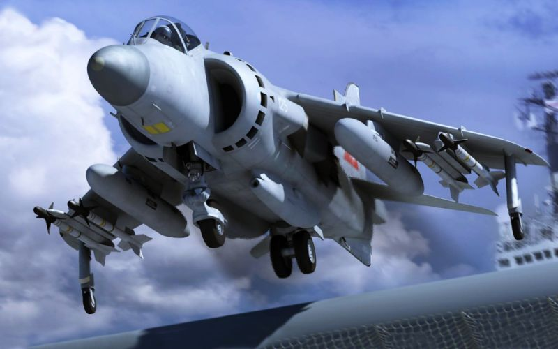 aircrafts army British fighters harrier Military sky wallpaper