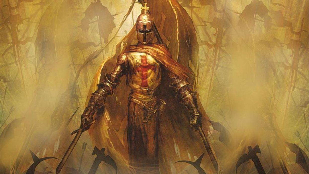 knight warrior art artwork wallpaper