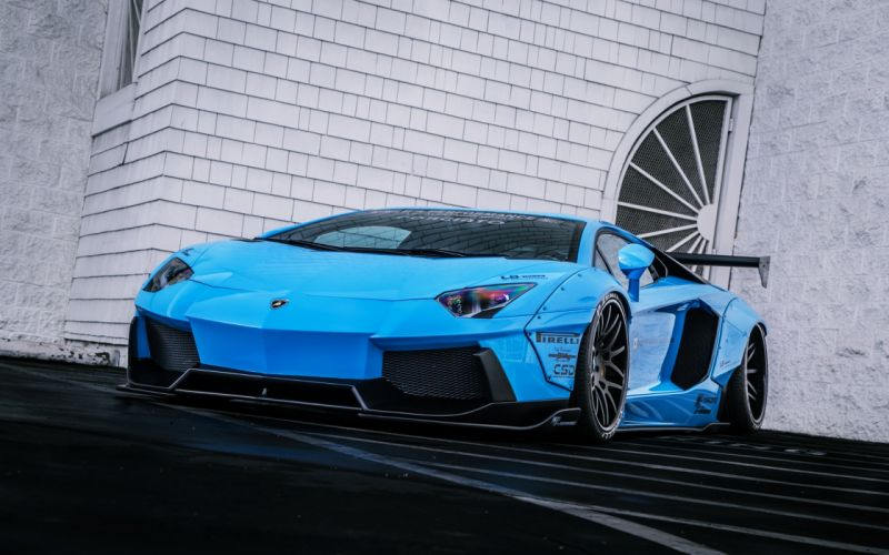 Lamborghini Aventador Lp720 4 Liberty Lb Perfomance Blue HD Wallpapers Download free images and photos [musssic.tk]