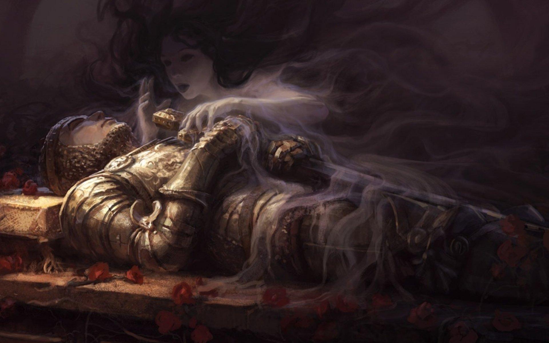 Fantasy knight art