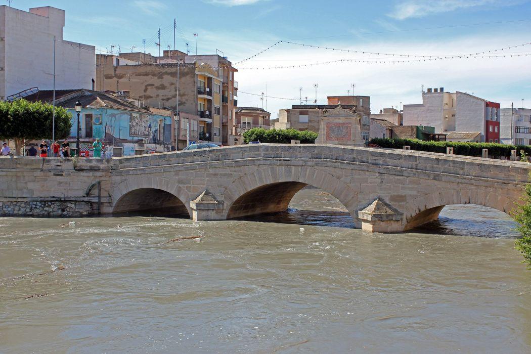 rojales alicante puente rio segura espaA wallpaper