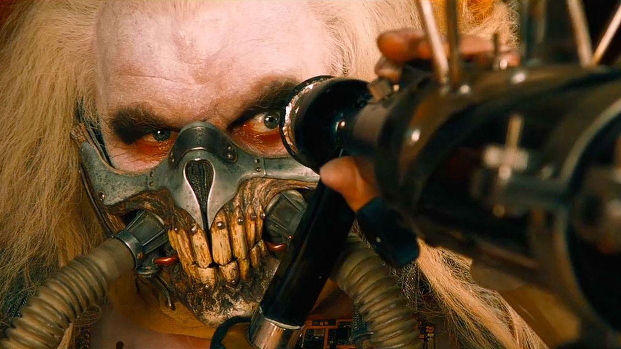 MAD MAX FURY ROAD sci-fi futuristic action fighting adventure 1mad-max apocalyptic road warrior dark skull mask wallpaper