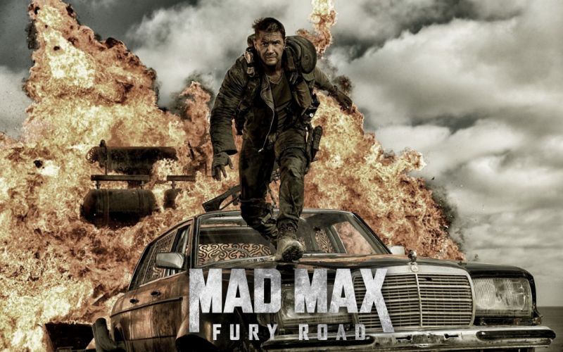 MAD MAX FURY ROAD sci-fi futuristic action fighting adventure 1mad-max apocalyptic road warrior poster wallpaper
