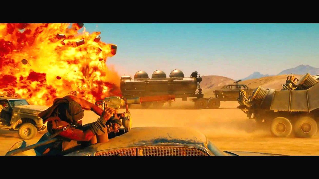 Mad Max Fury Road Sci Fi Futuristic Action Fighting Adventure 1mad