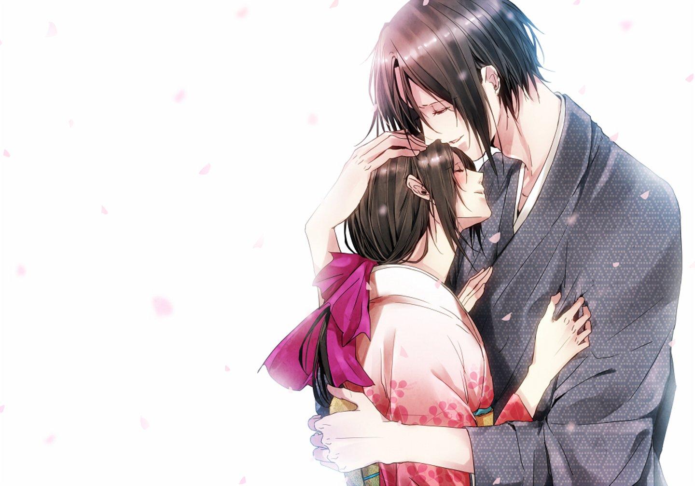 sad romantic anime love couples