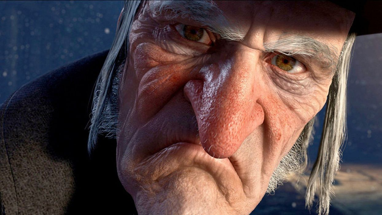 A Christmas Carol Animation Comedy Drama Jim Carrey wallpaper ...