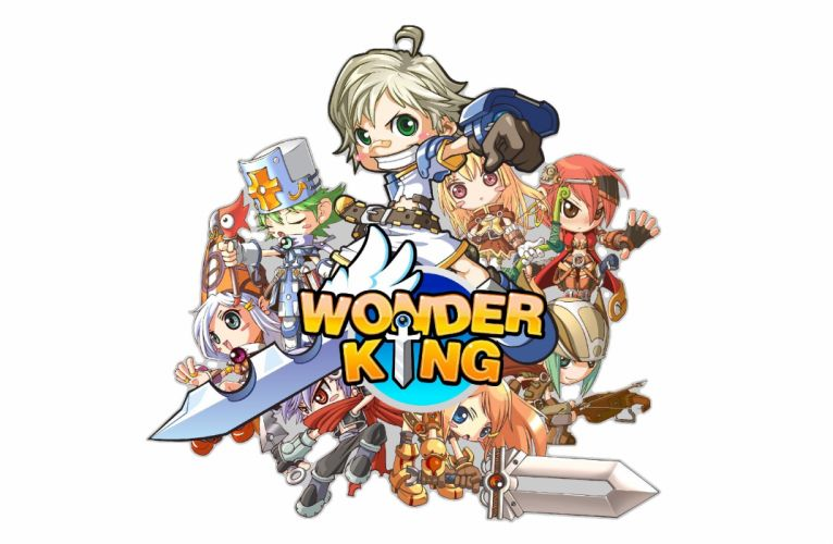 WONDERKING ONLINE anime manga mmo rpg scrolling fantasy 1wonder adventure chibi exploration action fighting poster wallpaper