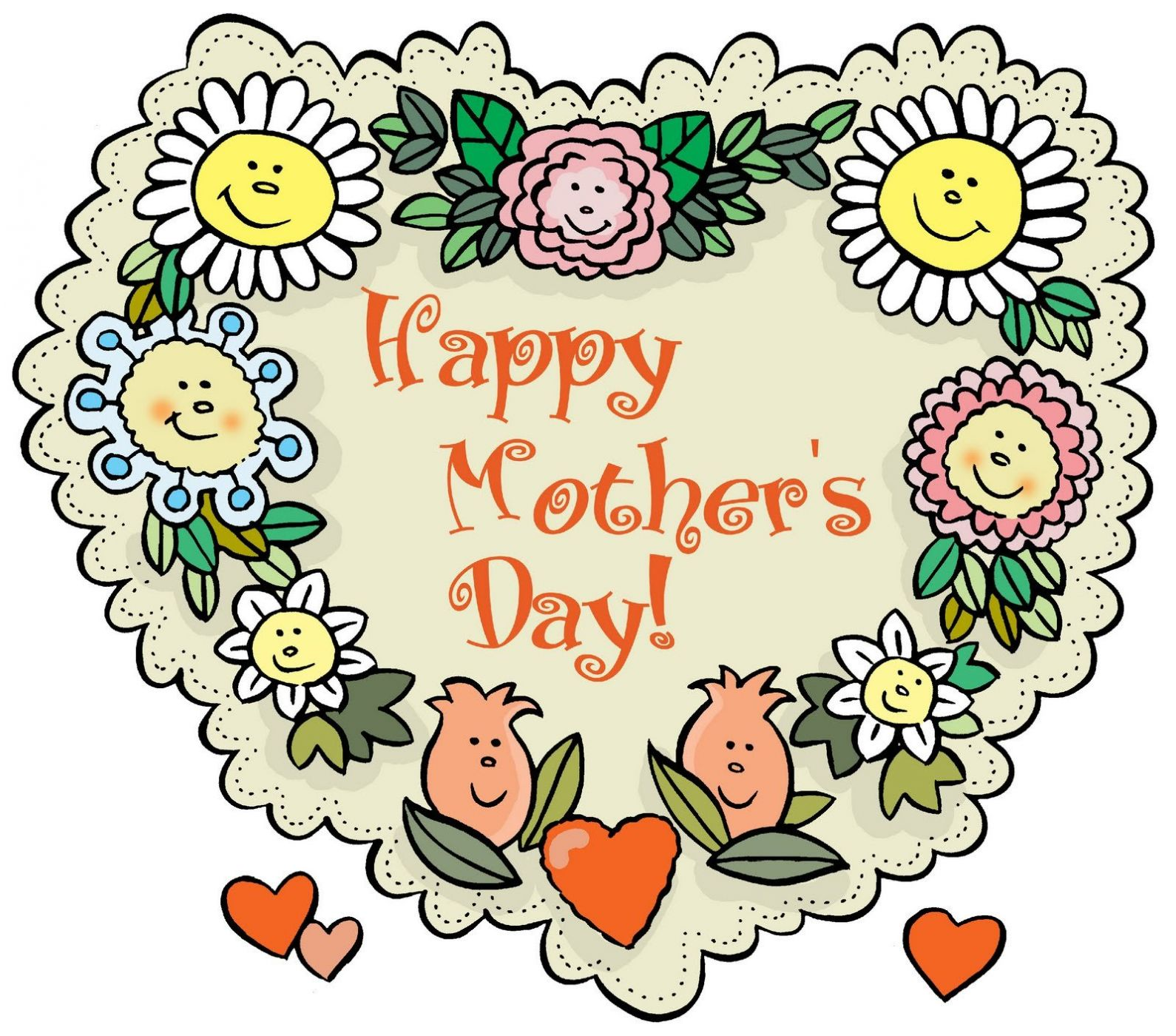 Днем рождения, английские открытки день мамы