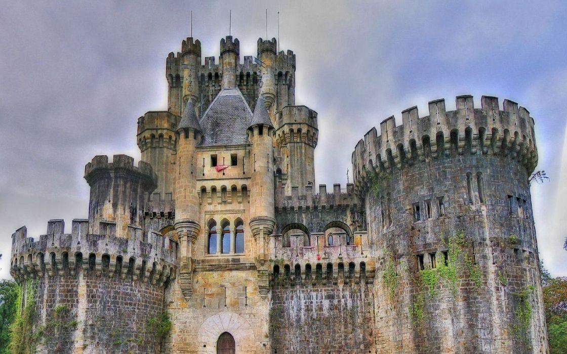 castillo espaA wallpaper