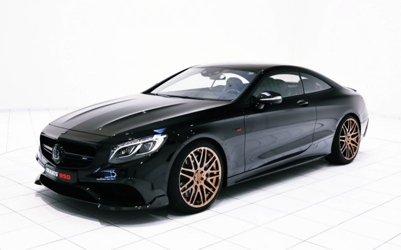 2015 Brabus Mercedes-Benz S 63 Coupe C217 Mercedes Benz Palmira black cars motors speed wallpaper