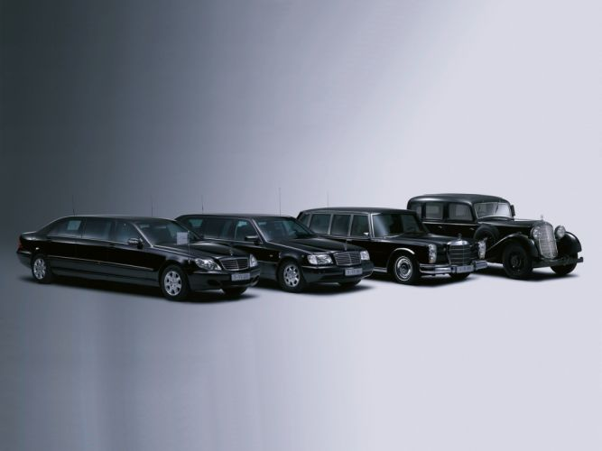 cars mercedes-benz retro limousine old classic modern black motors mercedes benz wallpaper
