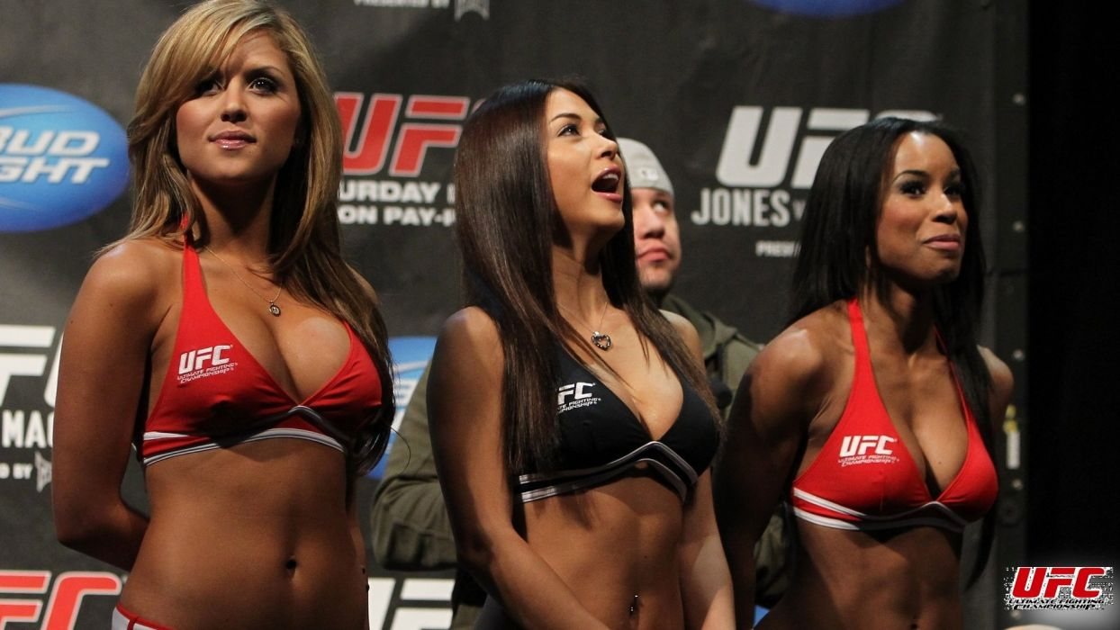 SPORTS - Arianny Celeste Brittney ring girls ufc mma wallpaper