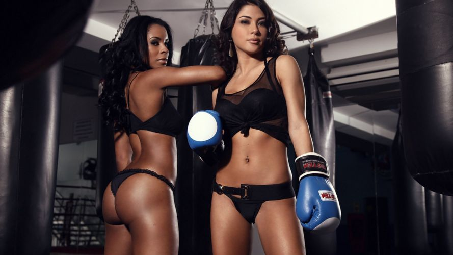 SPORTS - Arianny Celeste Chandella Powell ring girls ufc mma wallpaper