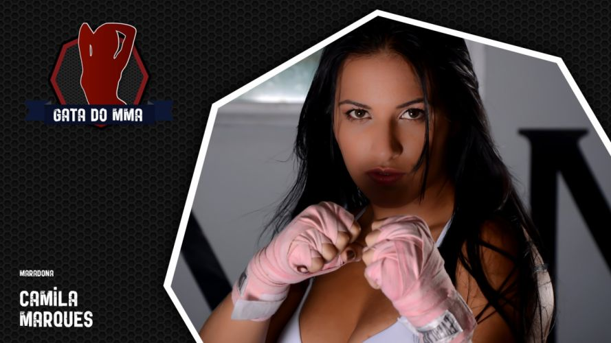 SPORTS - Camila Marques ring girls ufc mma wallpaper
