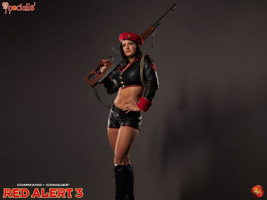 SPORTS - Gina Carano fighter ufc mma game Red Alert 3 wallpaper
