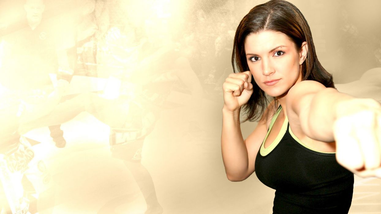 Sports Gina Carano Fighter Ufc Mma Punch Wallpaper