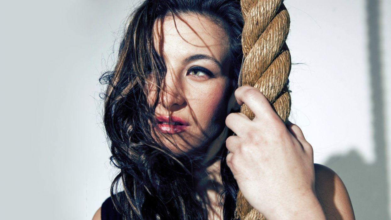 SPORTS - Miesha Tate fighter ufc mma rope wallpaper