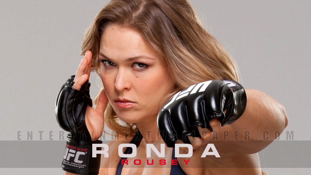 SPORTS - Ronda Rousey girl fighter ufc mma wallpaper