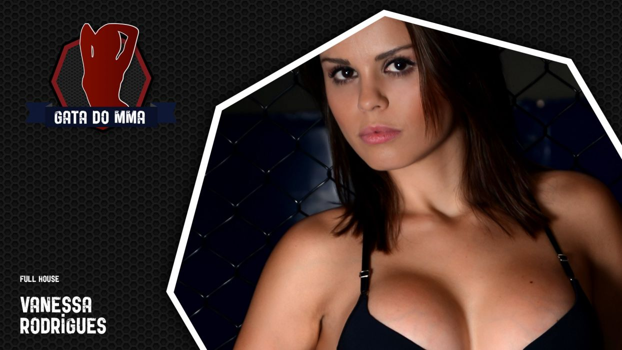 SPORTS - Vanessa Rodrigues ring girls ufc mma wallpaper