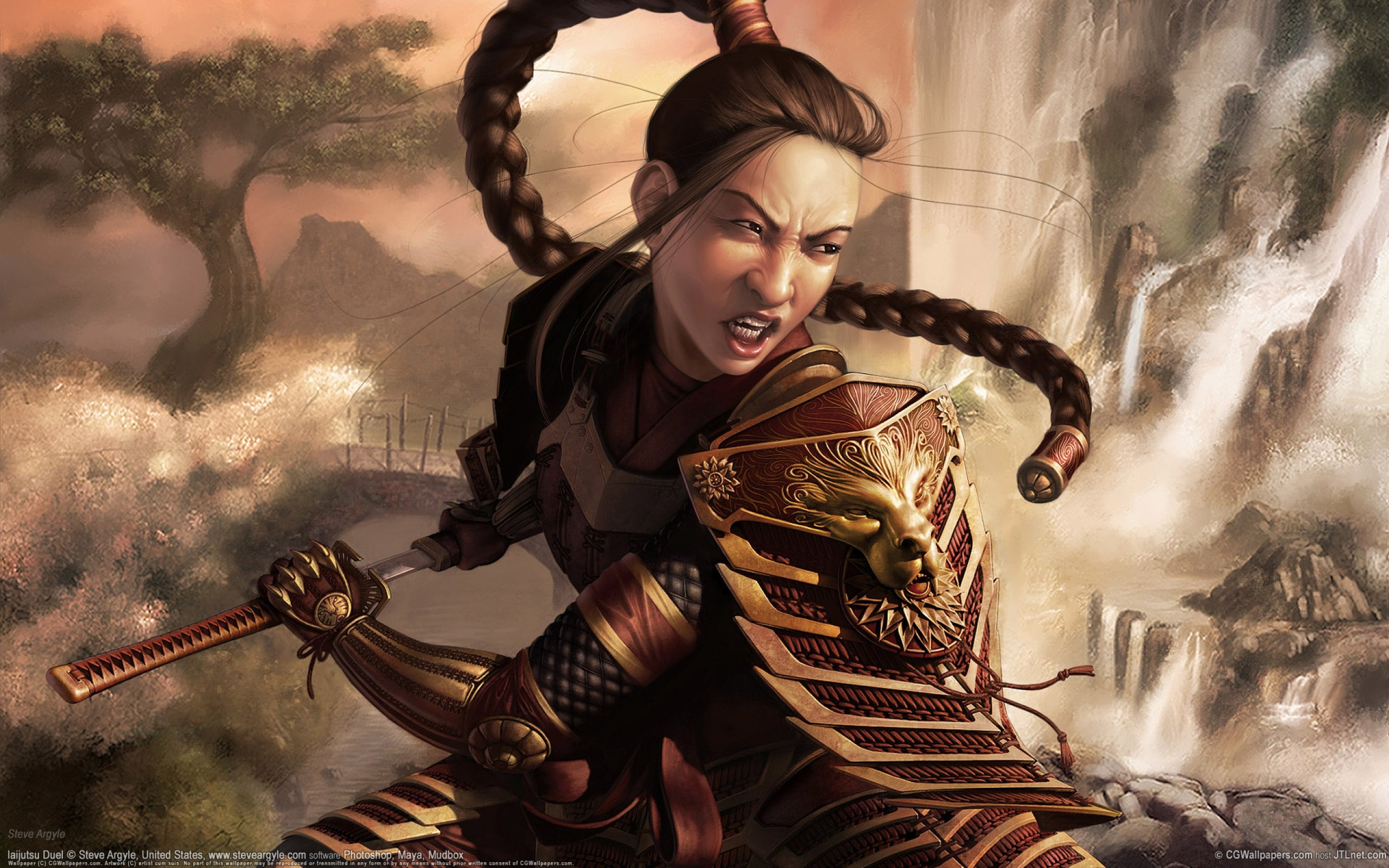 Asian Fantasy Art - Fantasy &- Abstract Background Wallpapers on ...