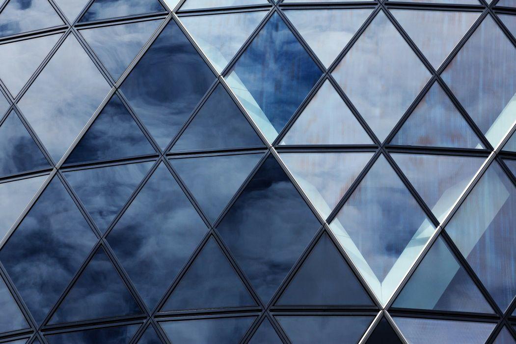 abstracto rombos edificios arquitectura wallpaper