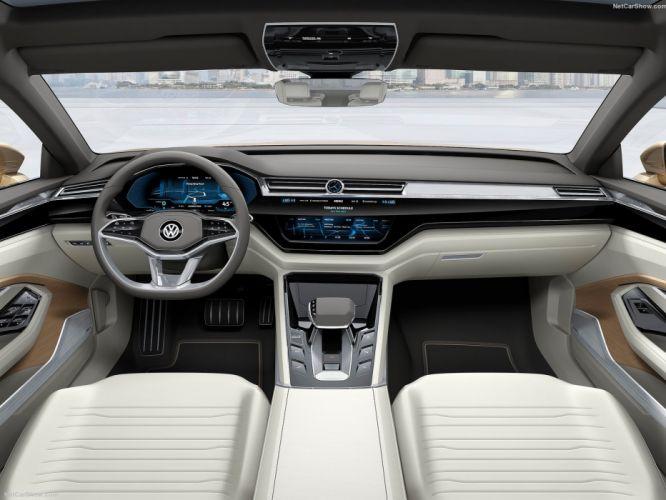 Volkswagen C-Coupe GTE Concept cars 2015 wallpaper