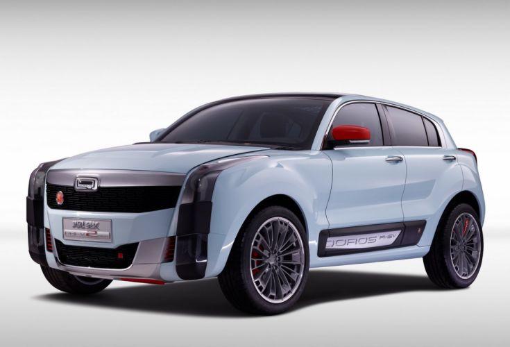 Qoros 2 SUV PHEV Concep cars 2015 wallpaper
