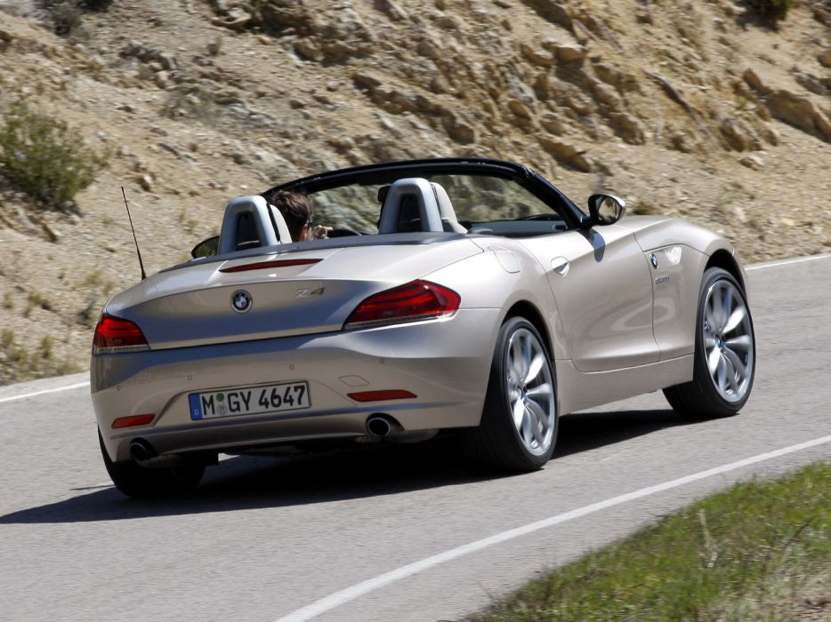 BMW Z4 sDrive35i Roadster E89 2009 cars wallpaper