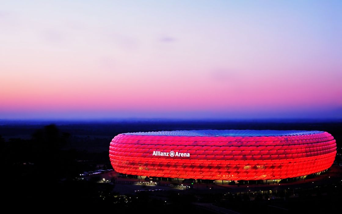 Allianz Arena Munich Germany MA wallpaper