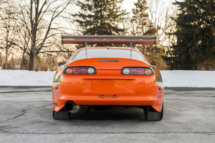 Toyota Supra 2001 cars coupe The Fast and the Furious movie wallpaper