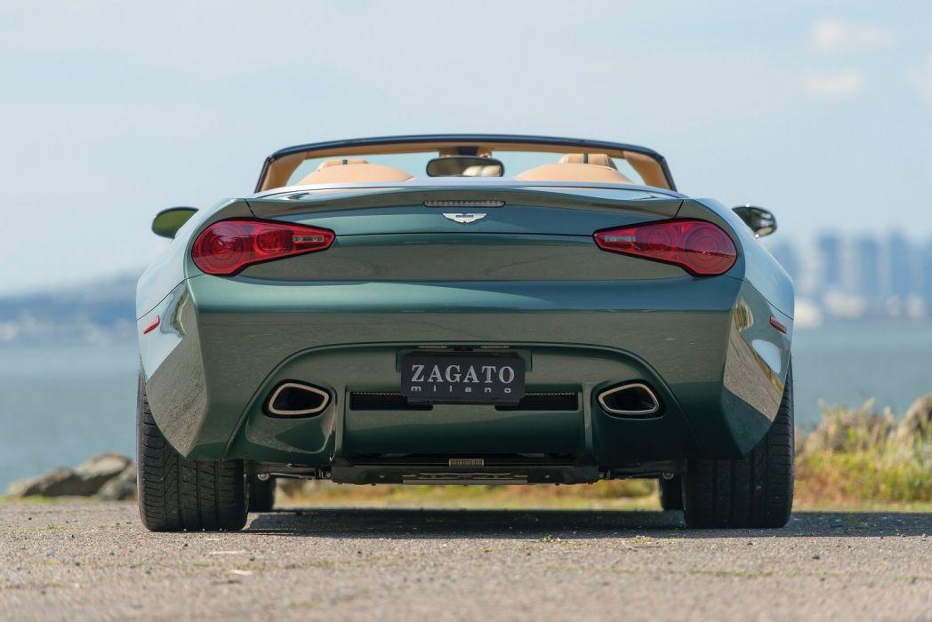 Aston Martin DB9 Spyder Centennial cars zagato wallpaper