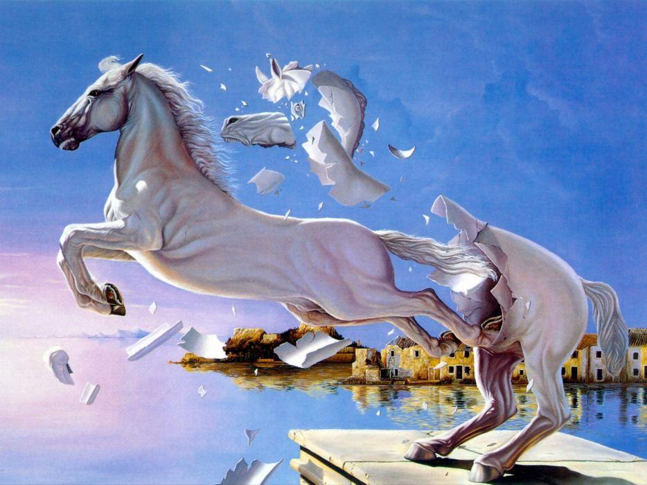 Fantasy Horse Art Artistic Wallpaper 1920x1440 667589