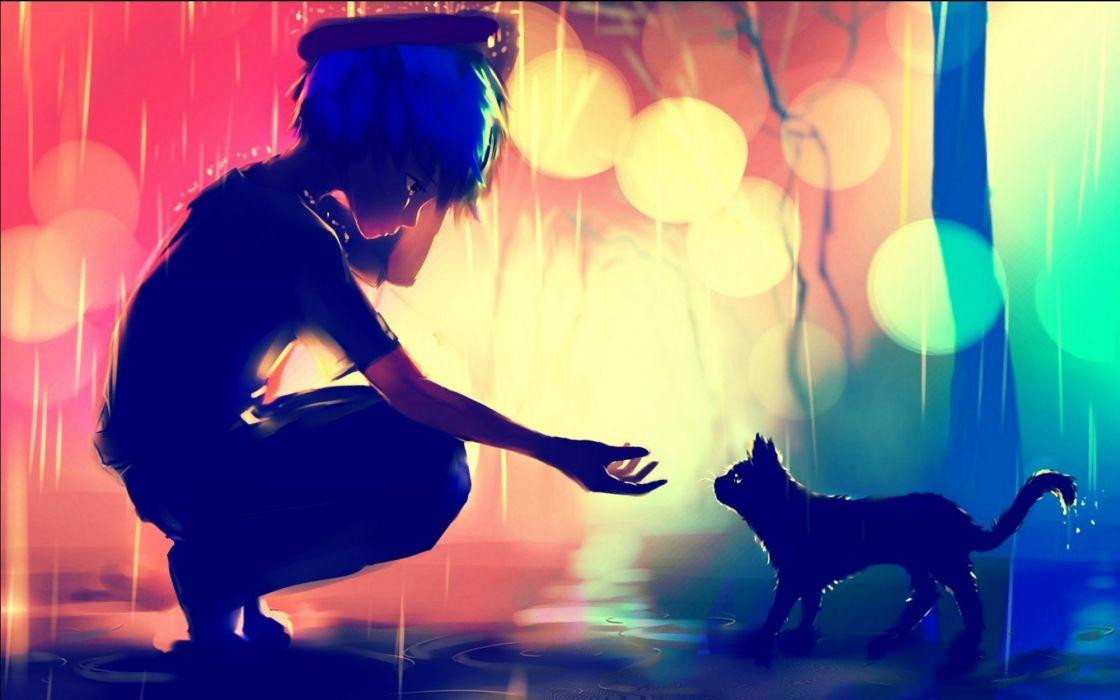 fantasy cat cats art artwork artistic wallpaper