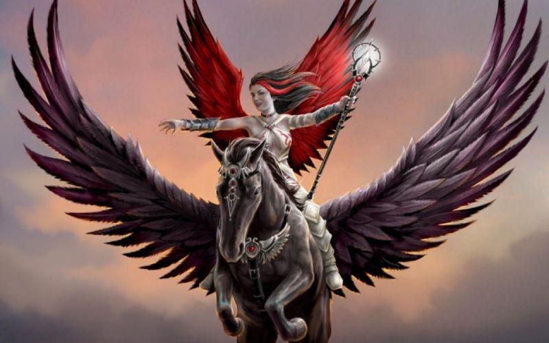 fantasy pegasus horse animal art artistic artwork wallpaper