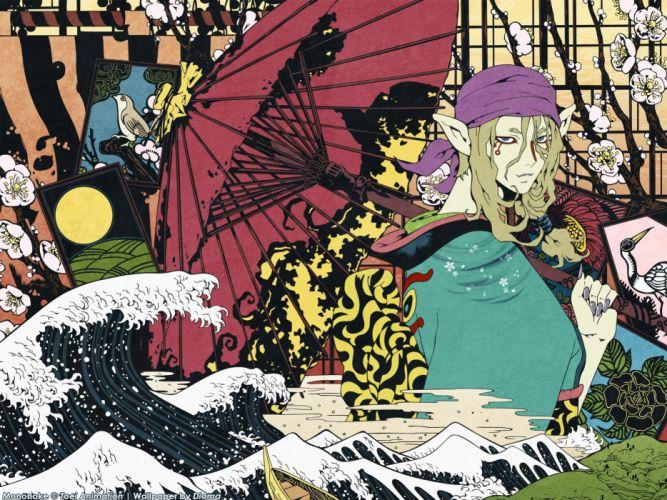 mononoke anime series wallpaper