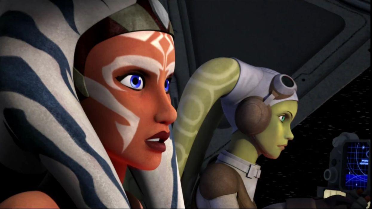 Star Wars Rebels Ahsoka And Hera Wallpaper 2560x1440 667838