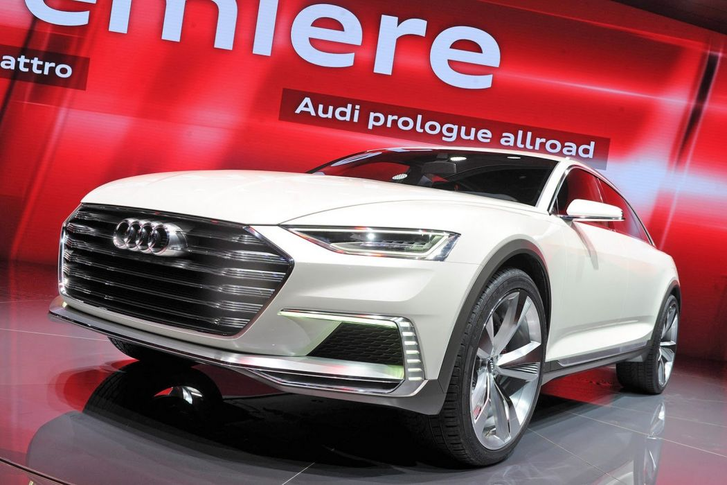 2015 allroad Audi cars Concept prologue suv wallpaper