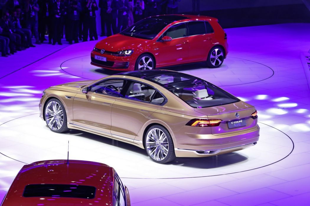 2015 C-Coupe cars Concept gte volkswagen wallpaper