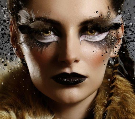 FACE - girl brunette makeup brightness fashion wallpaper