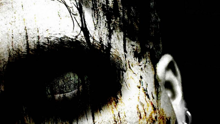 dark creepy scary horror evil art artistic artwork wallpaper