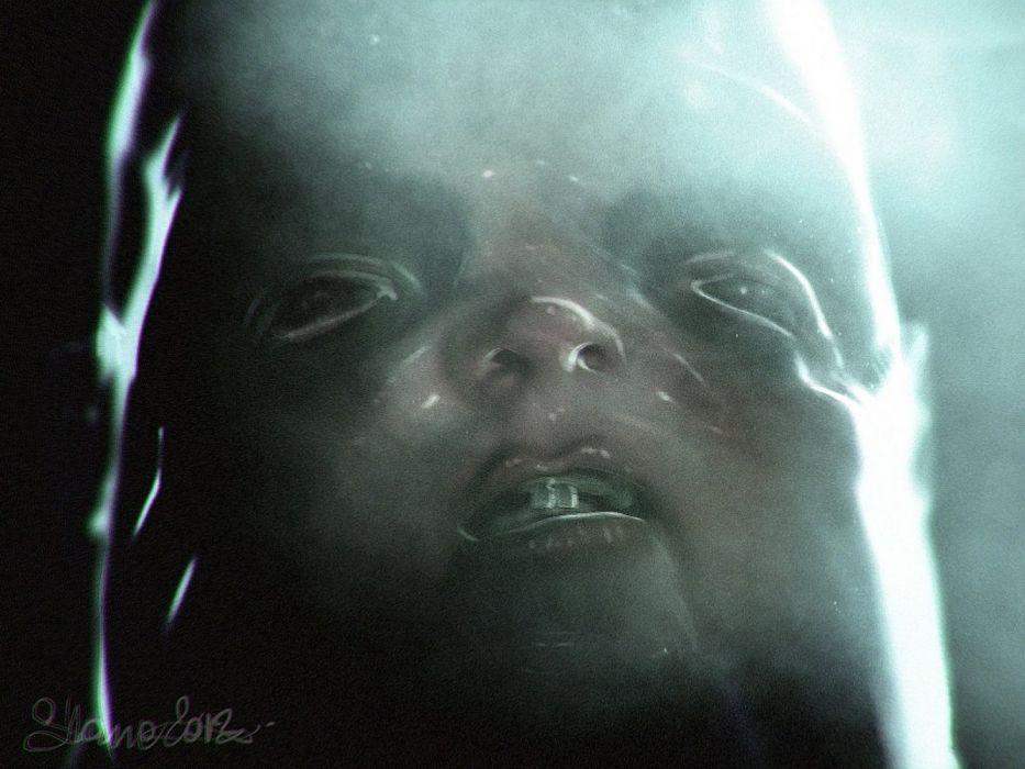dark creepy scary horror evil art artwork wallpaper