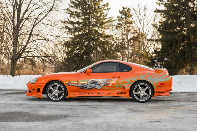 Toyota Supra The Fast and the Furious JZA80 2001 USA 6000x4006-04 wallpaper