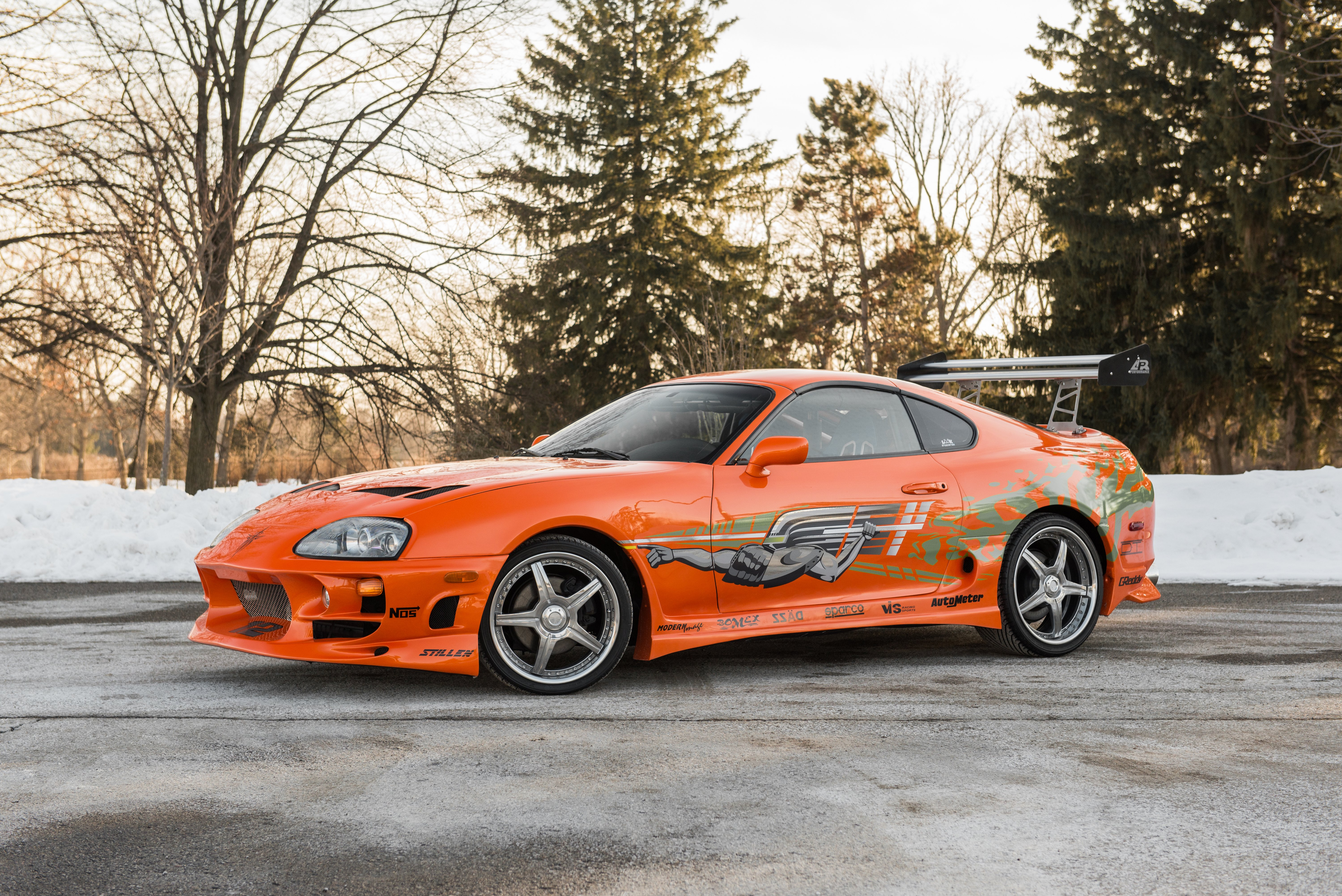 Toyota Supra The Fast and the Furious - 4107.7KB