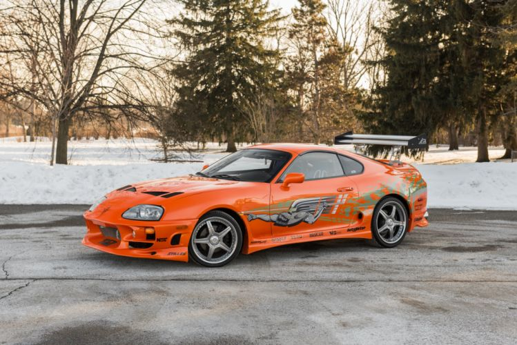 Toyota Supra The Fast and the Furious JZA80 2001 USA 6000x4006-06 wallpaper
