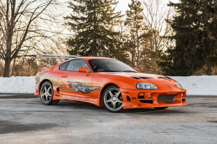 Toyota Supra The Fast and the Furious JZA80 2001 USA 6000x4006-09 wallpaper
