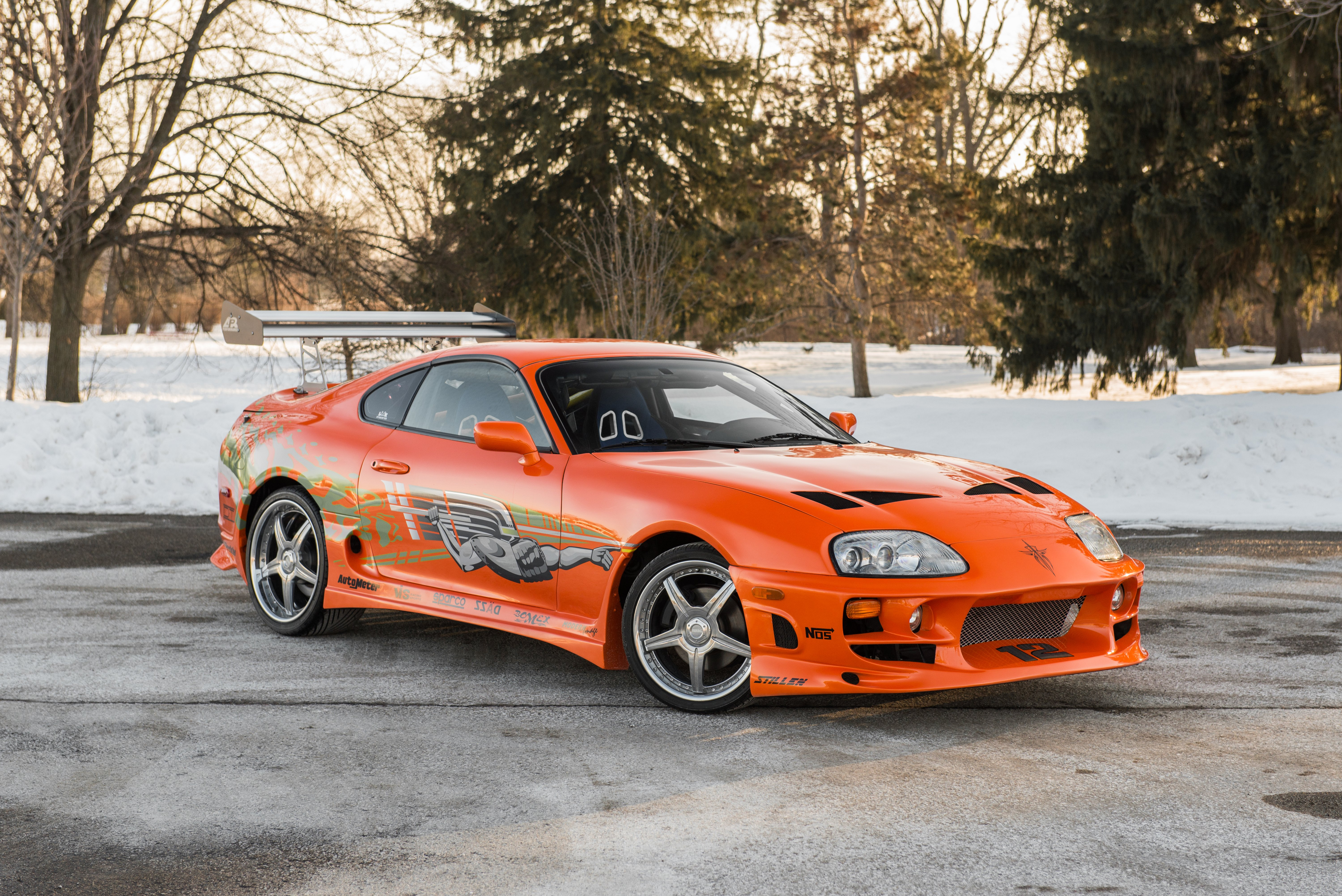 Toyota Supra The Fast and the Furious - 3788.7KB
