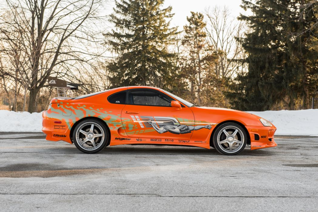 Toyota Supra The Fast and the Furious JZA80 2001 USA 6000x4006-11 wallpaper