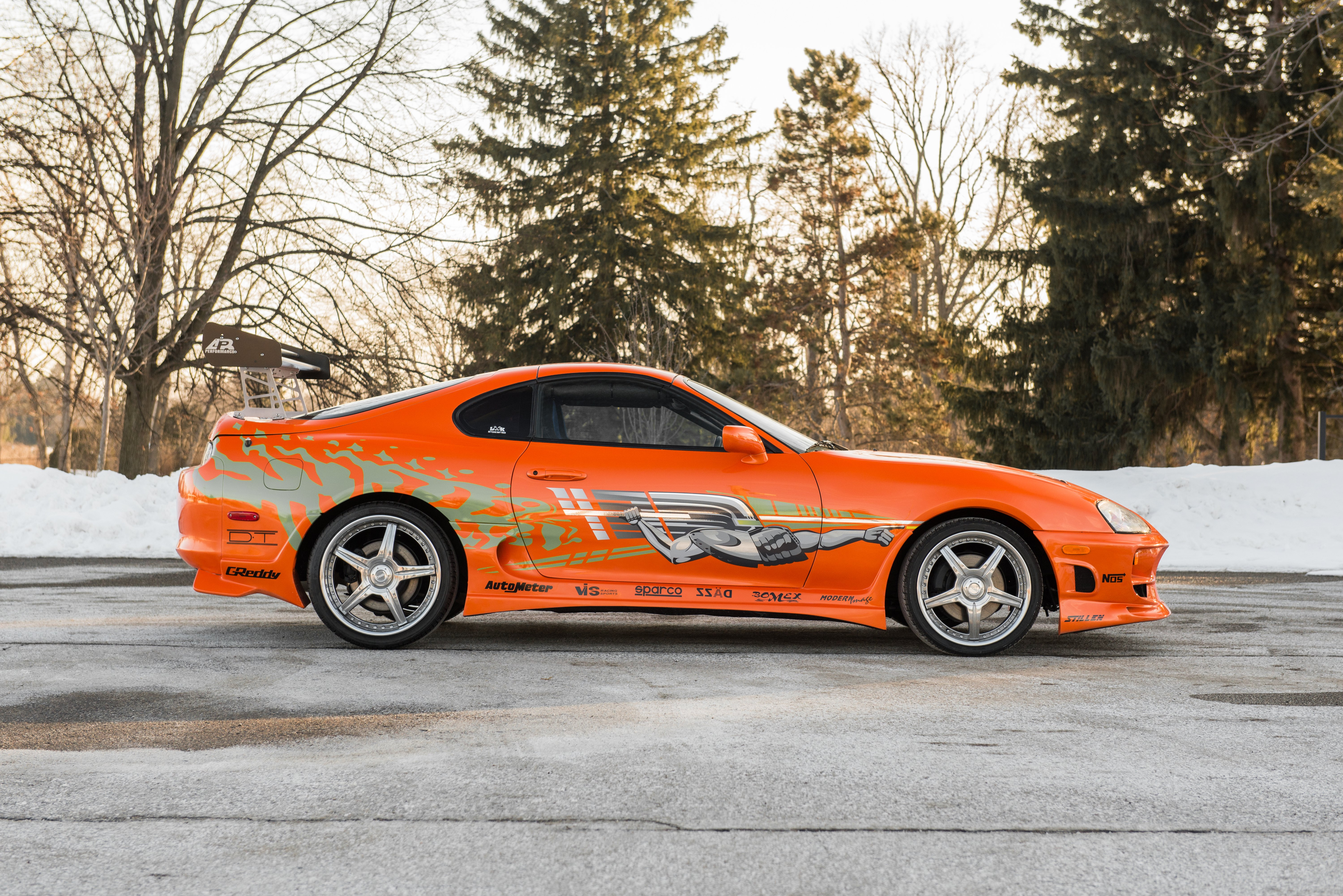 Toyota Supra The Fast and the Furious - 3897.2KB